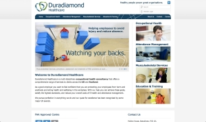 Duradiamond homepage