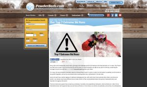 Powderbeds extreme runs