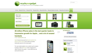 Recycle Your Gadget - Screen Shot
