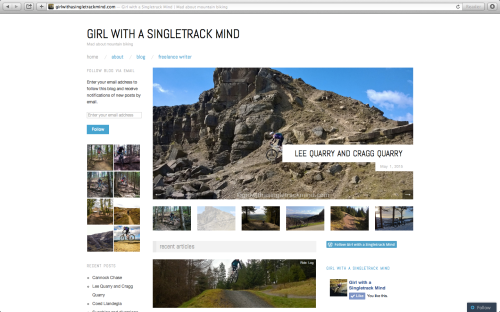 Girl with a Singletrack Mind blog